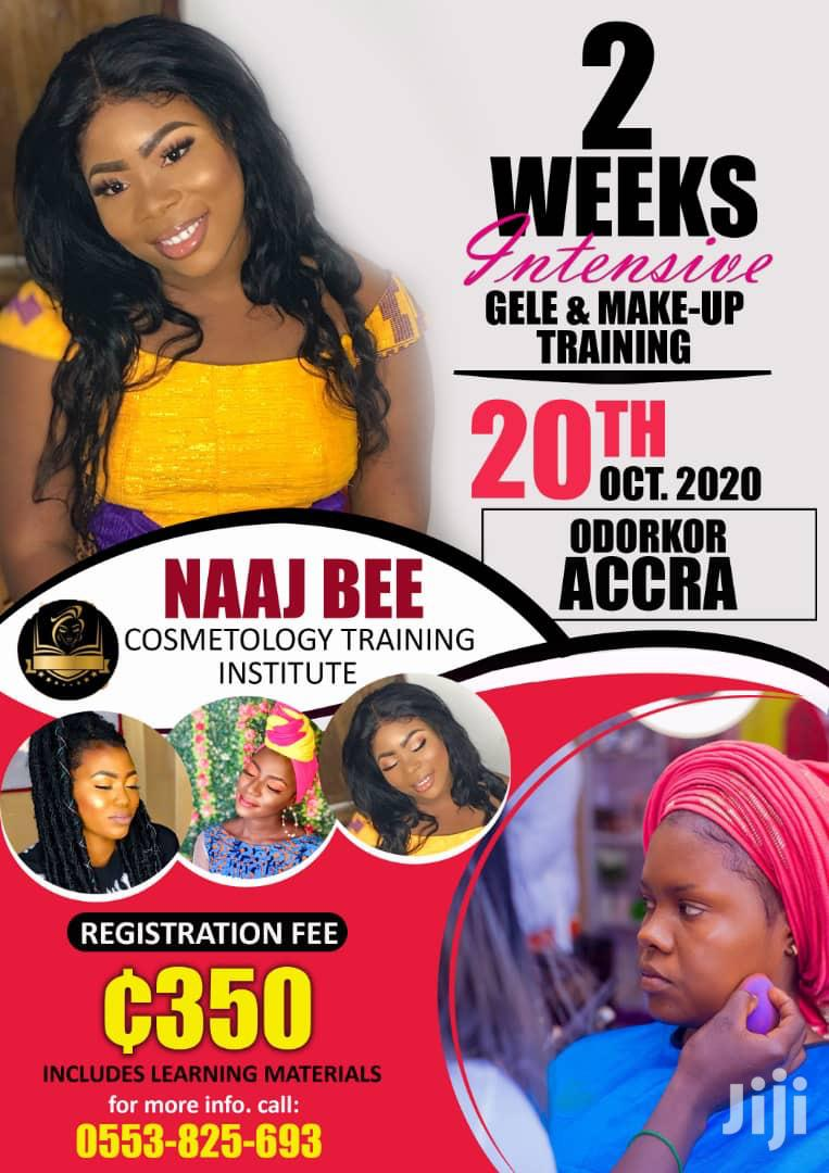 Gele and Makeup Training