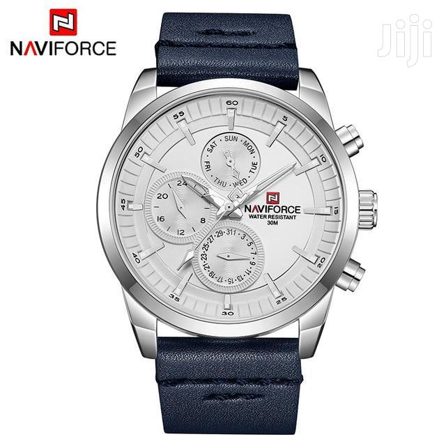 NAVIFORCE 9148 Waterproof 24 Hour Date Display Quartz Watch