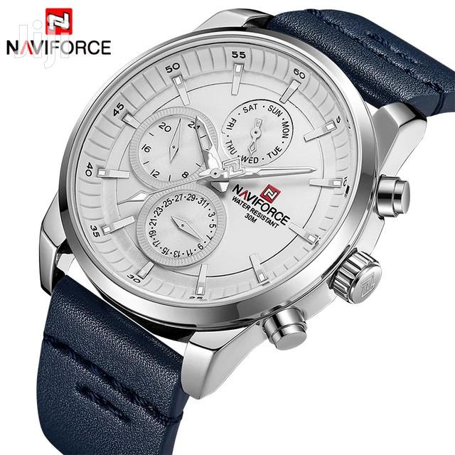 NAVIFORCE 9148 Waterproof 24 Hour Date Display Quartz Watch | Watches for sale in Accra Metropolitan, Greater Accra, Ghana