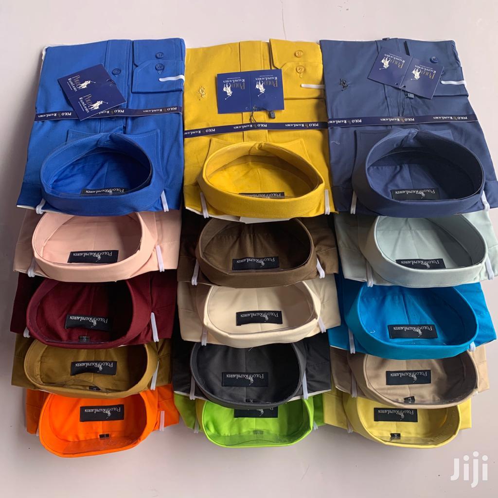 Polo Plain Shirt For Sale 100%Cotton
