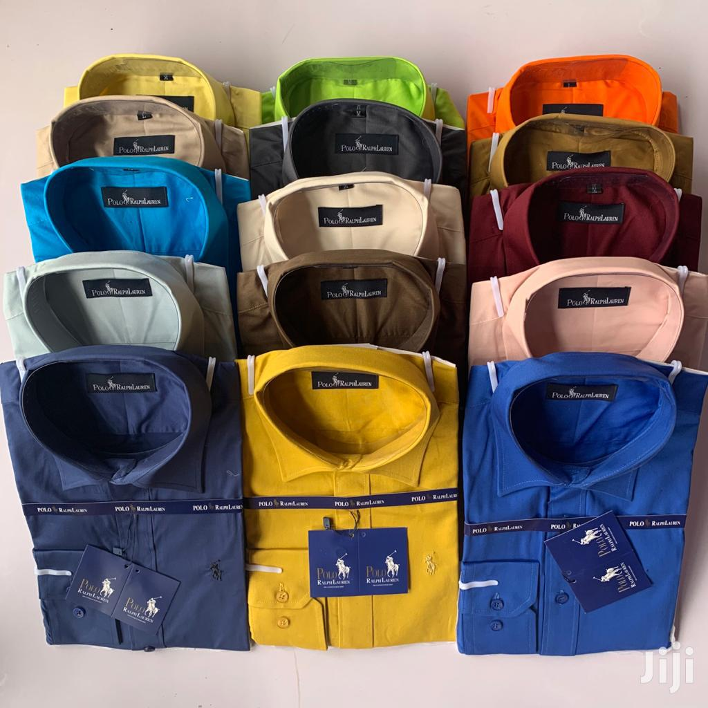 Polo Plain Shirt For Sale 100%Cotton | Clothing for sale in Accra Metropolitan, Greater Accra, Ghana