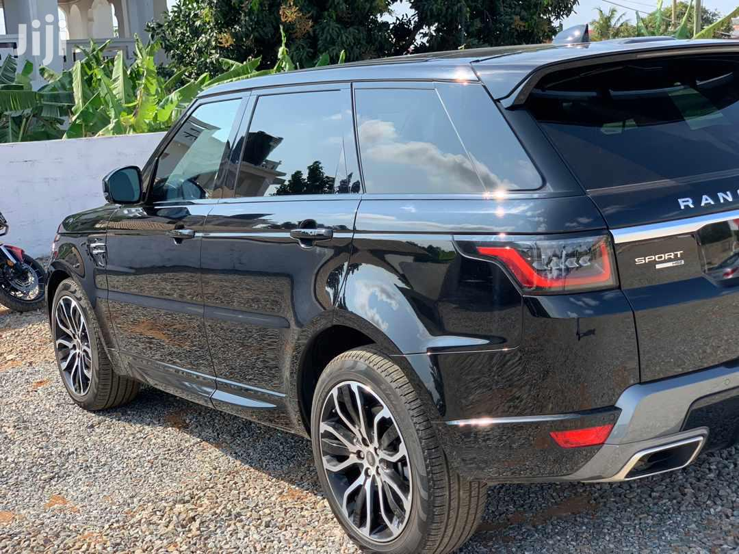 Land Rover Range Rover Sport 2020 HSE Dynamic 4x4 Black   Cars for sale in Achimota, Greater Accra, Ghana