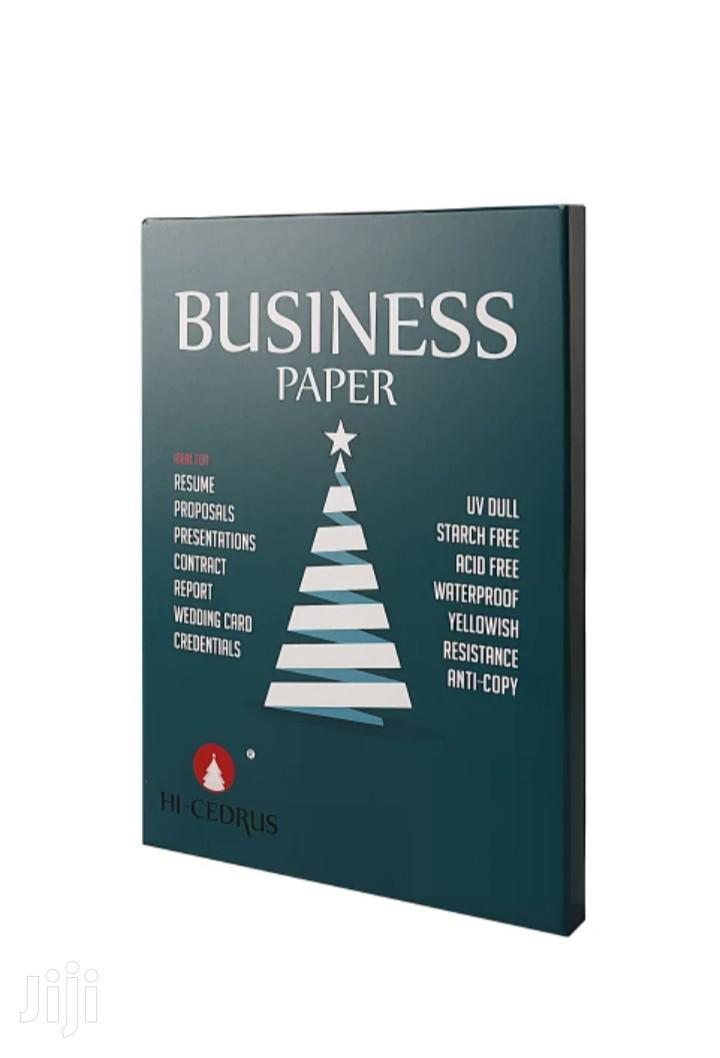 Archive: Cotton And Linen Business Paper With Security Thread 4 Sale