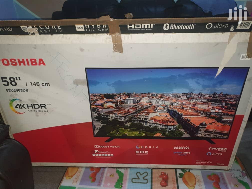 "Archive: Toshiba 58"" Uhd 4K Smart Digital TV"