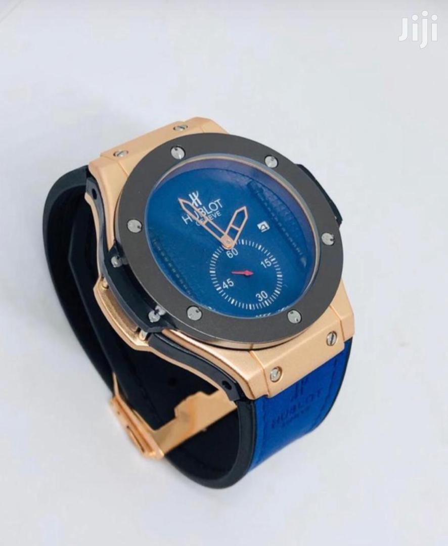 Archive: Hublot Blue Watch