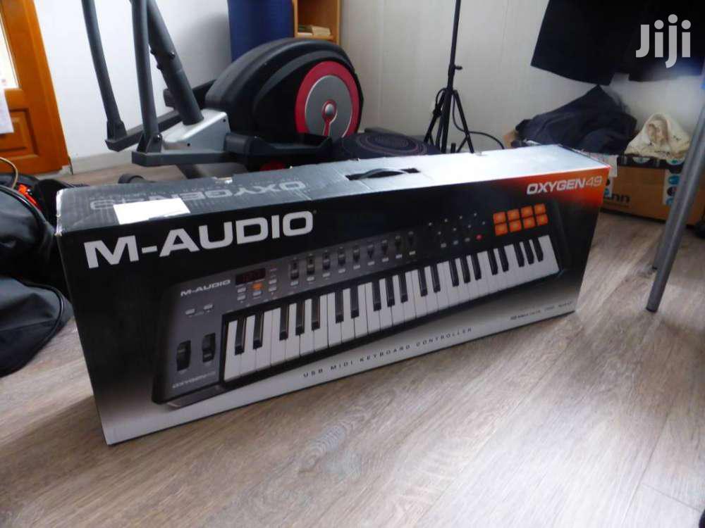 Archive: M-Audio Oxygen 49 IV - USB MIDI Keyboard Controller