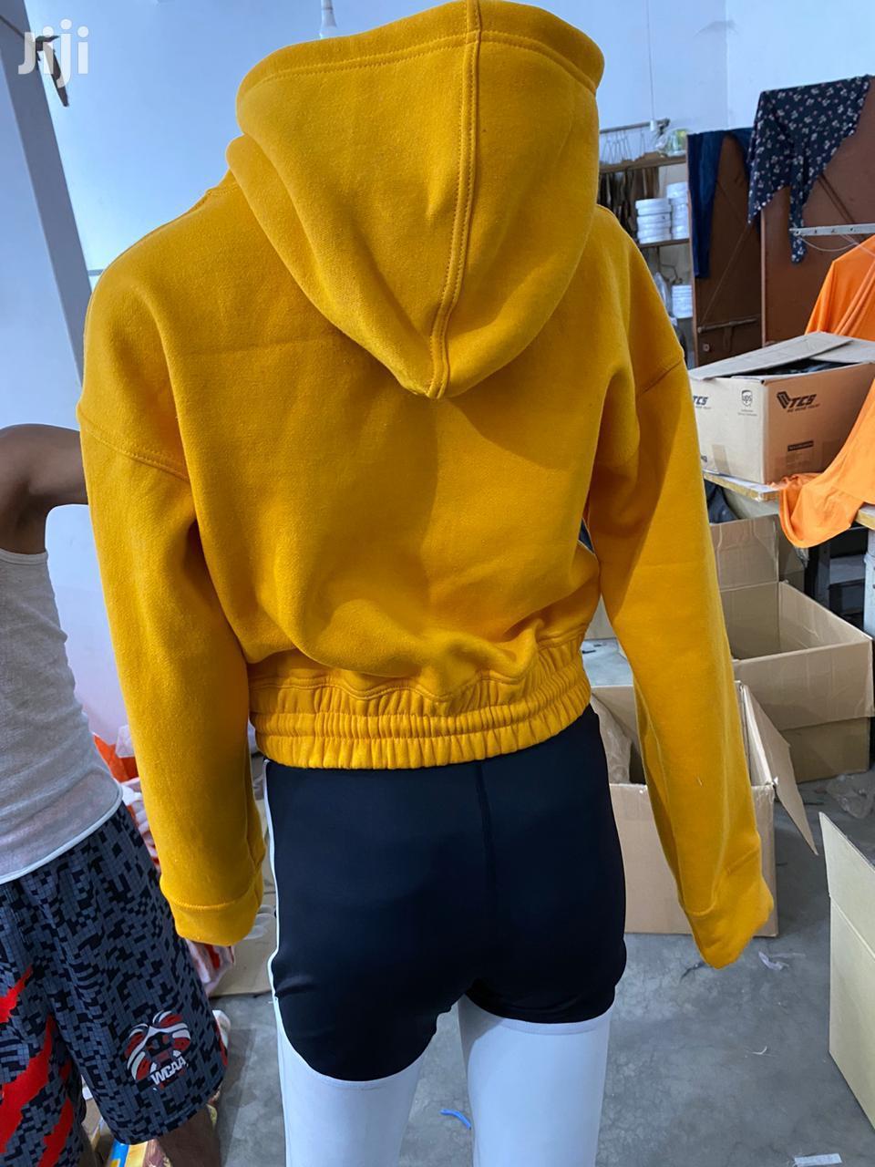 ML Hoodie Crop Top | Clothing for sale in Accra Metropolitan, Greater Accra, Ghana