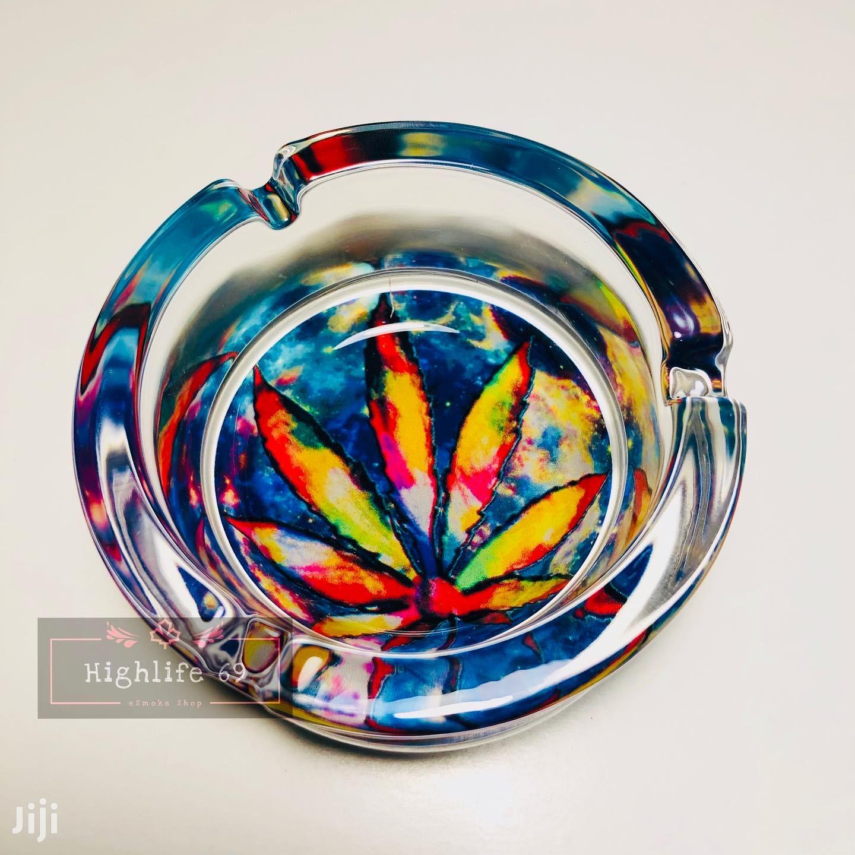 Ashtray - Cannabis Design