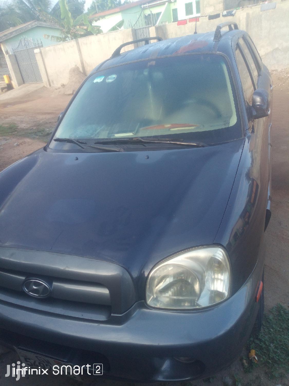 Hyundai Santa Fe 2005 2.7 V6 GLS 4WD Blue
