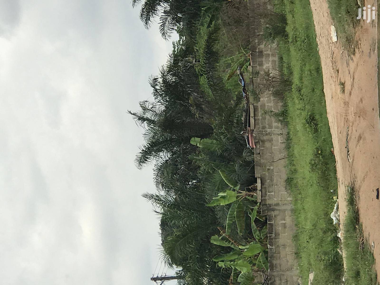 One Plot Whit Fence Walled for Sale at POKOASE Fise Wyouo | Land & Plots For Sale for sale in Ga West Municipal, Greater Accra, Ghana