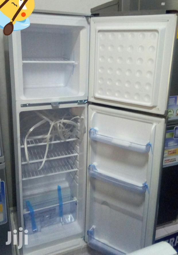Nasco Top Freezer Fridge 145litrs +Free Mini Gas Stove