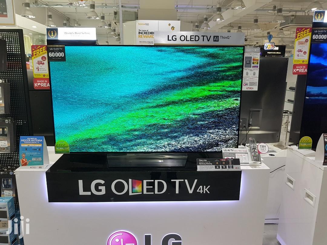 LG OLED TV 55 Inch B8 Series Cinema Screen Design 4K HDR