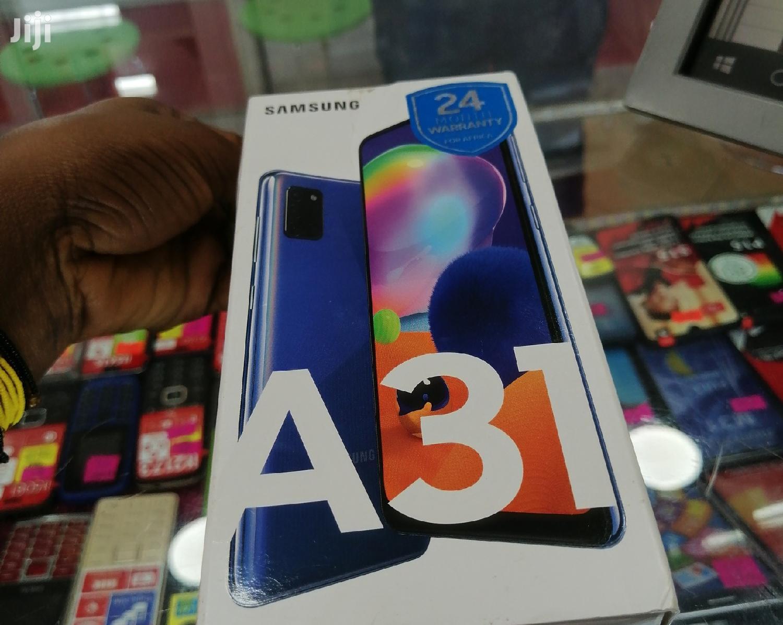 Archive: New Samsung Galaxy A31 128 GB Blue