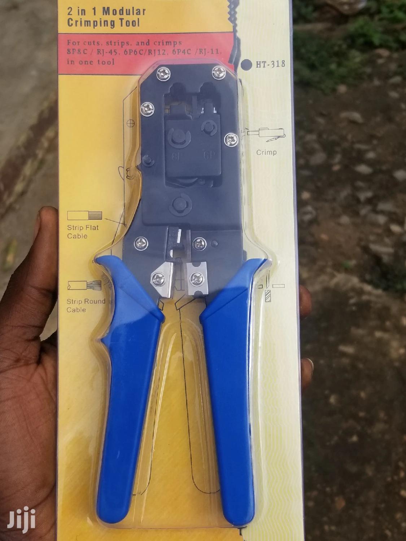 RJ45/RJ11 Crimping Tool