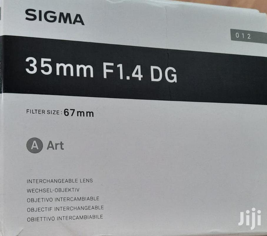 Sigma 35mm F1.4 Dg Art Lens | Accessories & Supplies for Electronics for sale in East Legon, Greater Accra, Ghana