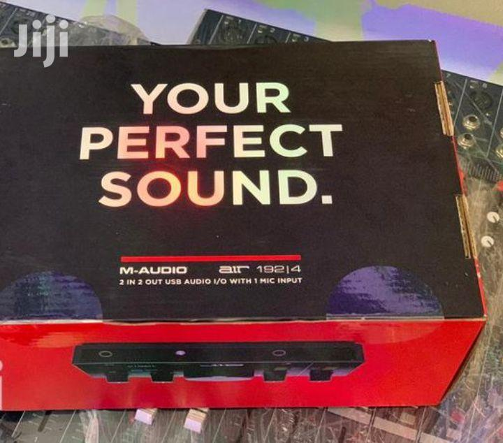 M-audio Air 192/14 8-in,4-out MIDI/ Audio Interface
