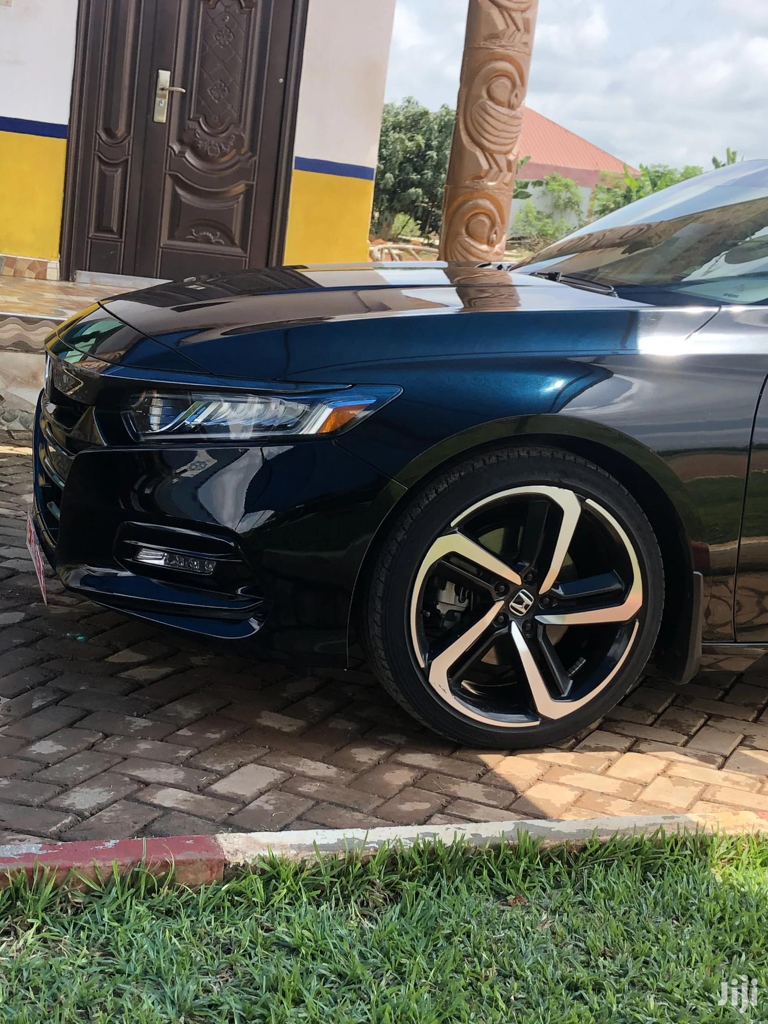 Honda Accord 2018 Sport Black | Cars for sale in Sunyani Municipal, Brong Ahafo, Ghana