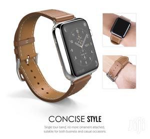 Tosu Leather Strap/Band For Apple Watch Series 1 To 6 | Smart Watches & Trackers for sale in Greater Accra, Accra Metropolitan