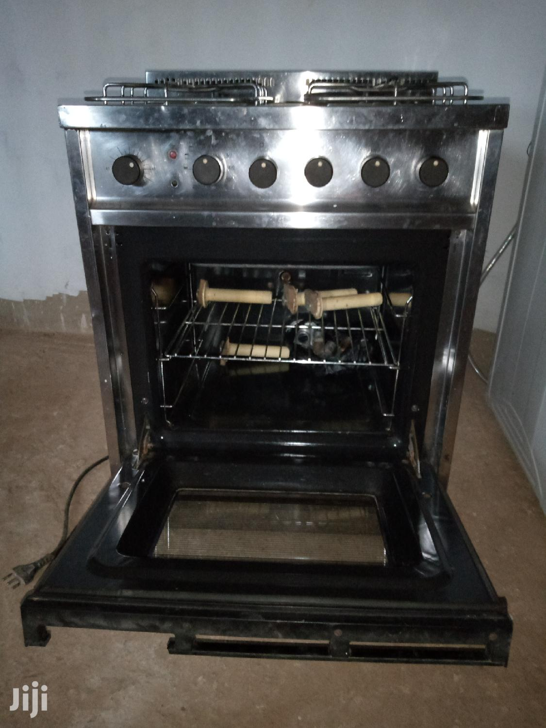 Archive: 4 Burner With Oven