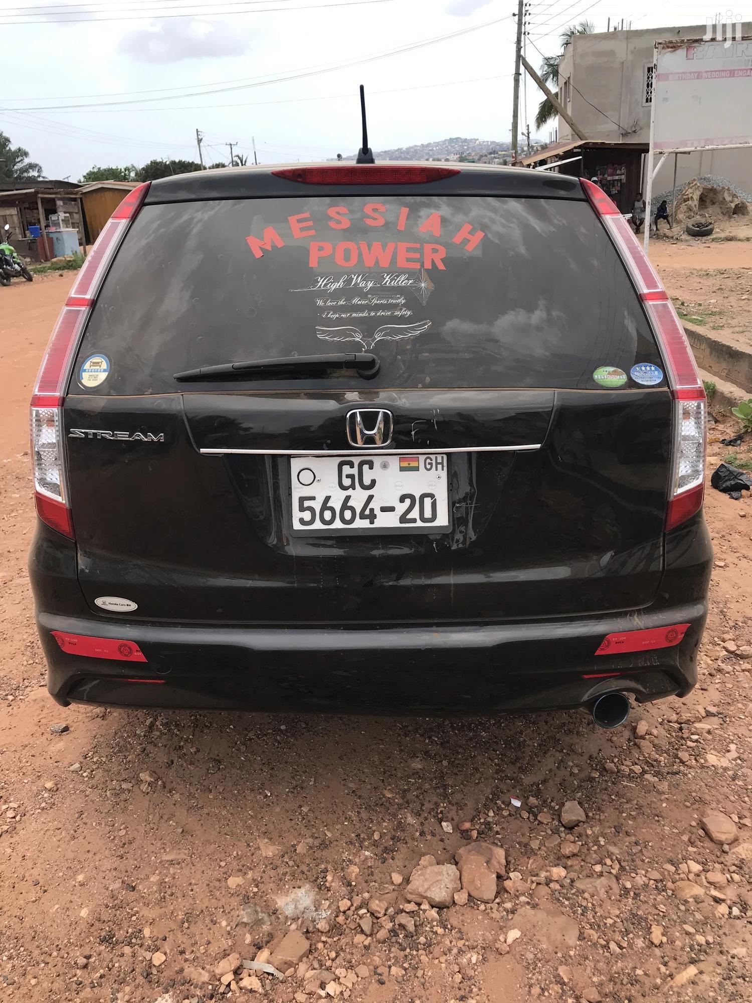 Honda Stream 2010 1.7i ES Black | Cars for sale in Achimota, Greater Accra, Ghana