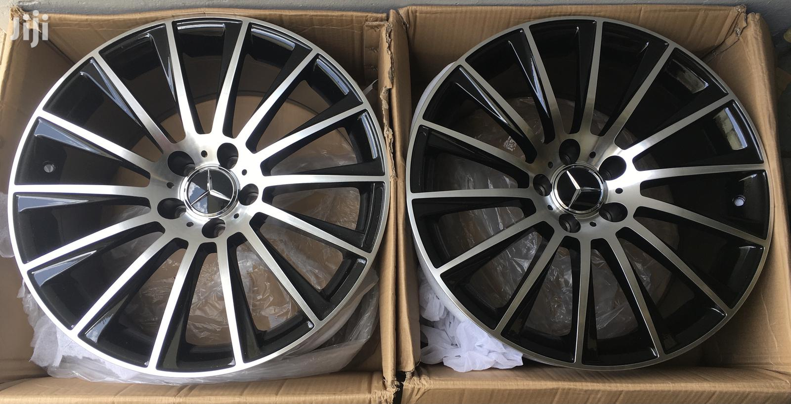 "New Mercedes Benz Rims ""19"""