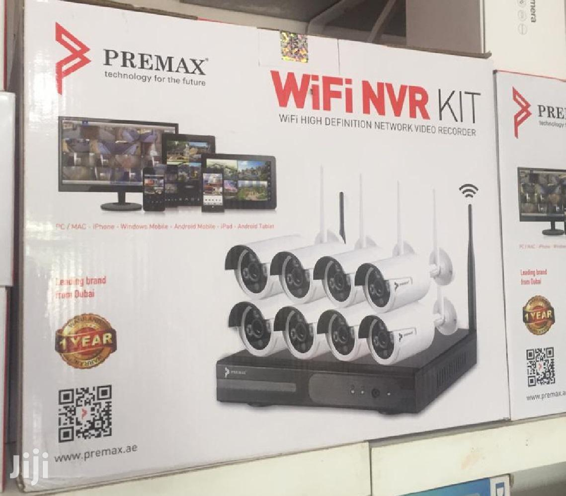 (8 Channel) 2.0mp Premax Wifi CCTV KIT