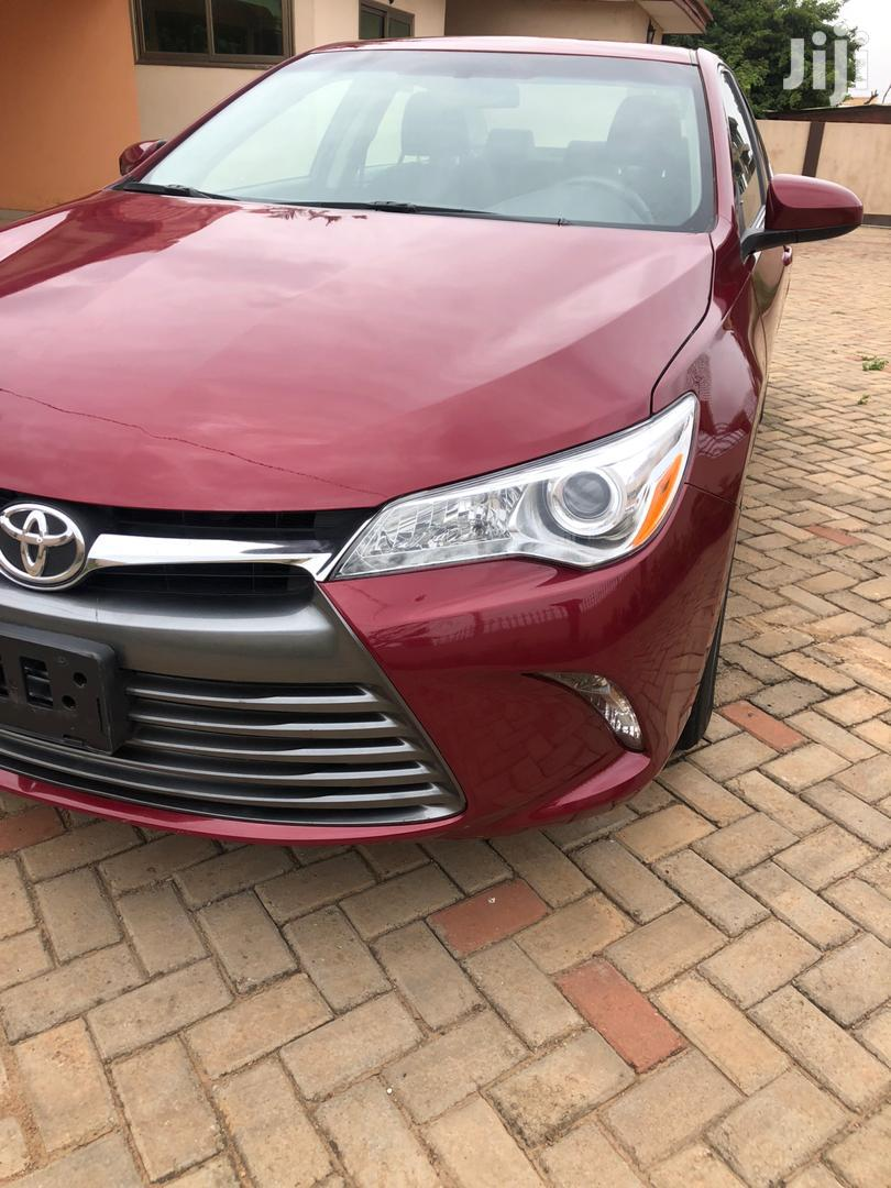 Archive: Toyota Camry 2017 Red
