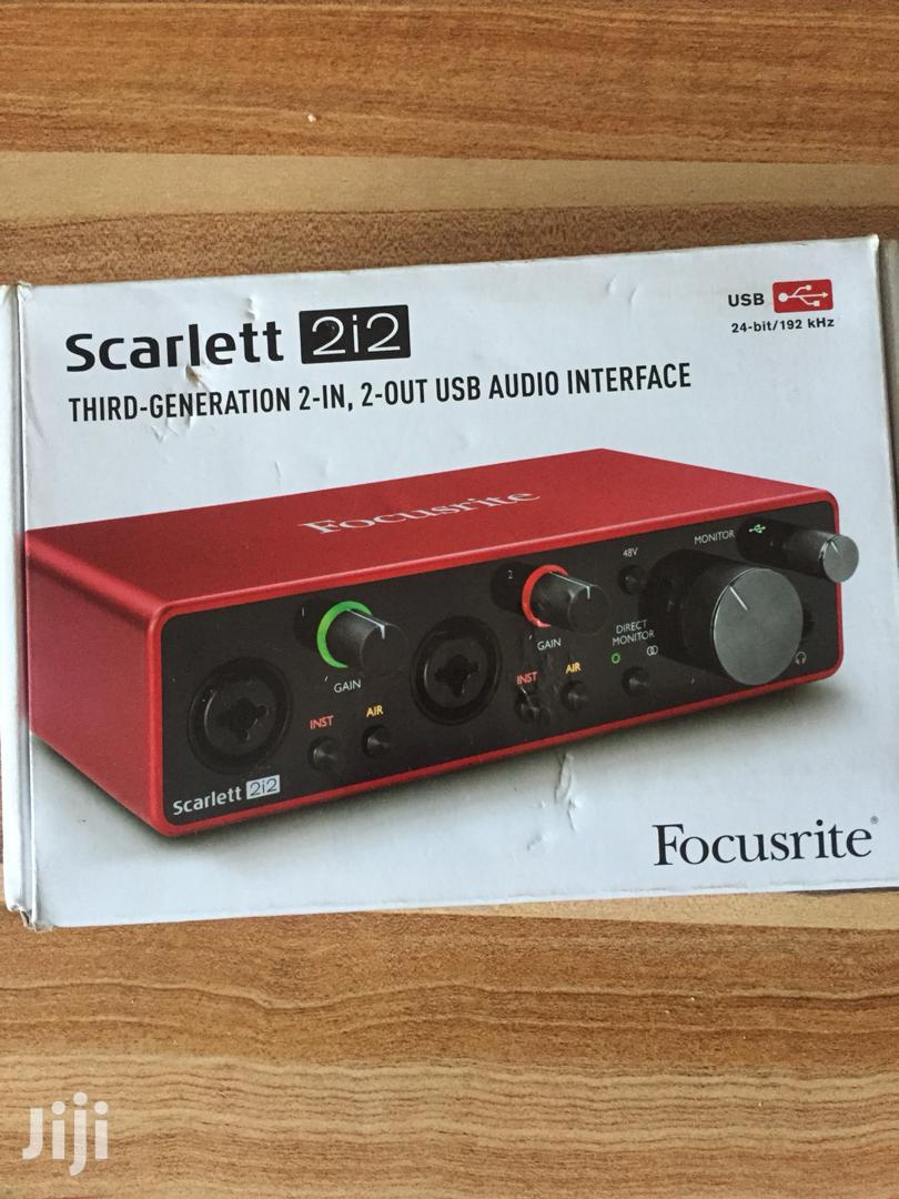 Archive: Focusrite Scarlet 212, 3rd Generation Audio Interface