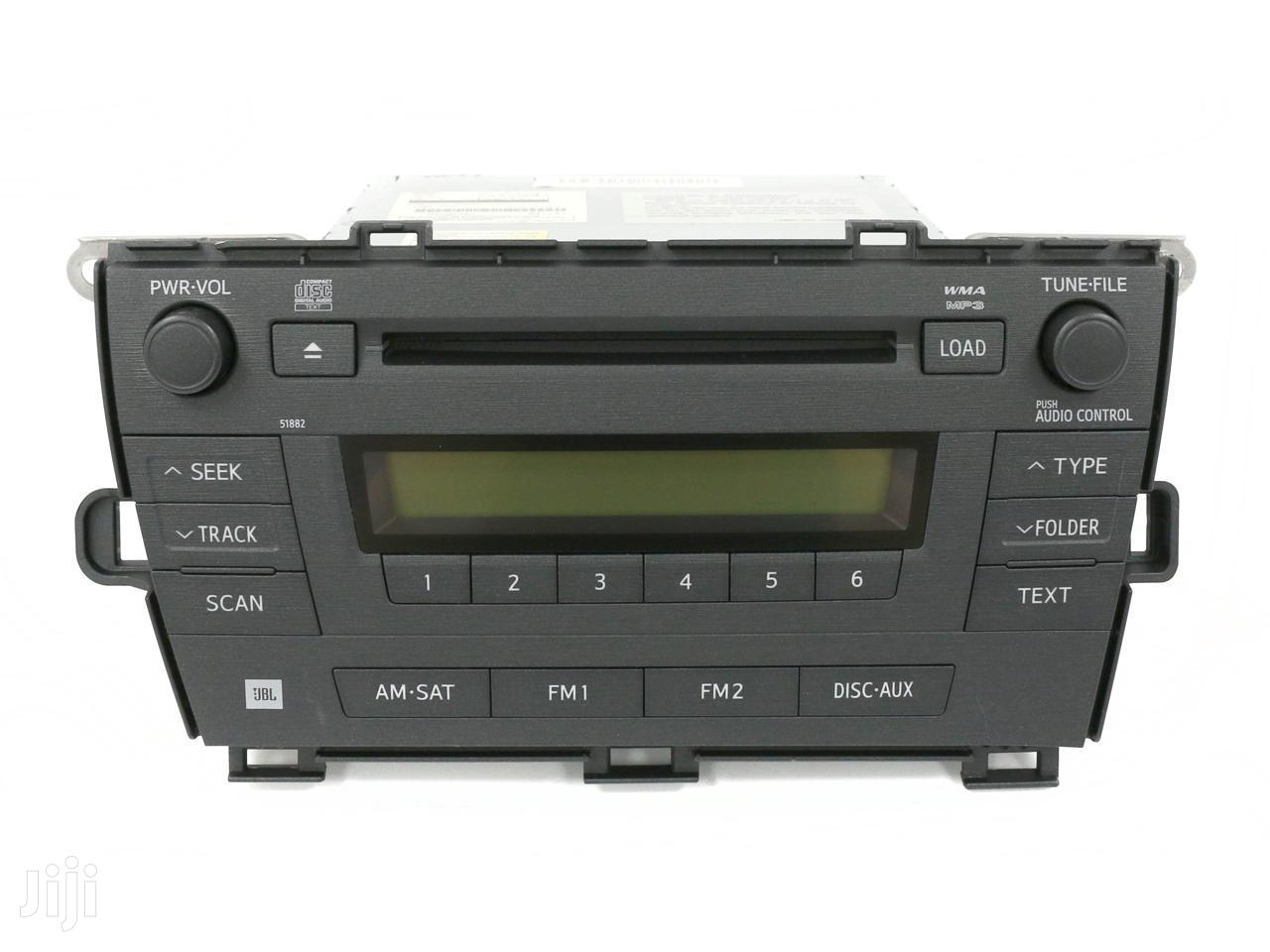 Toyota Prius AM FM Radio CD Player