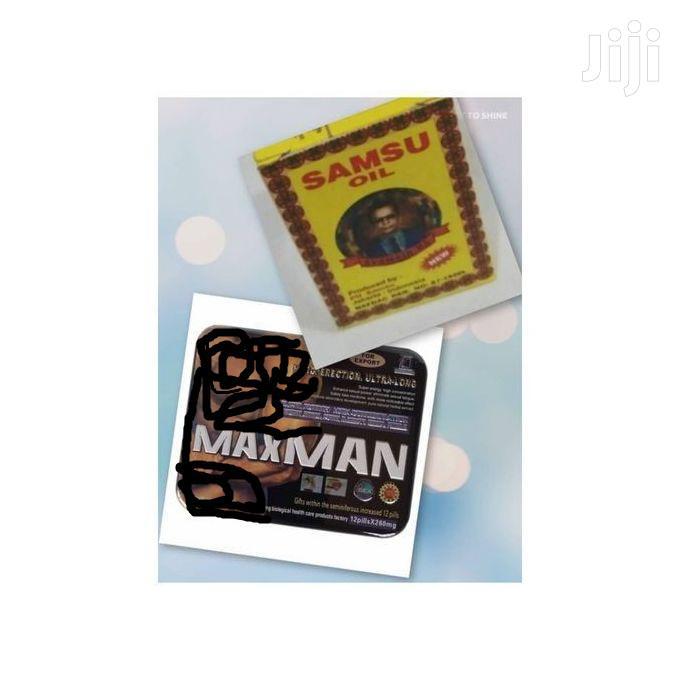 MAXMAN Poor Ejaculation Tablet And Samsu Oil Long Lasting Er