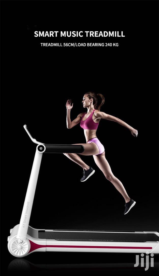 Smart Music Treadmill
