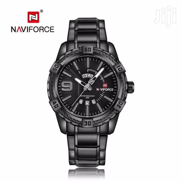 Archive: Naviforce 9117 Branded Analog Calender Display Watch