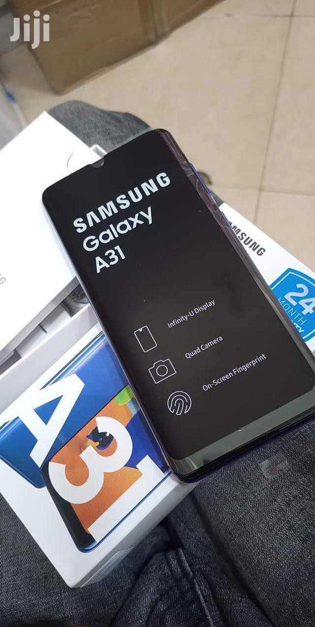 New Samsung Galaxy A31 128 GB Gold
