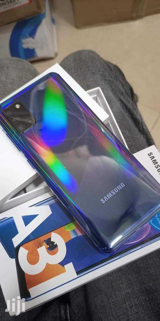 New Samsung Galaxy A31 128 GB Gold   Mobile Phones for sale in Kumasi Metropolitan, Ashanti, Ghana