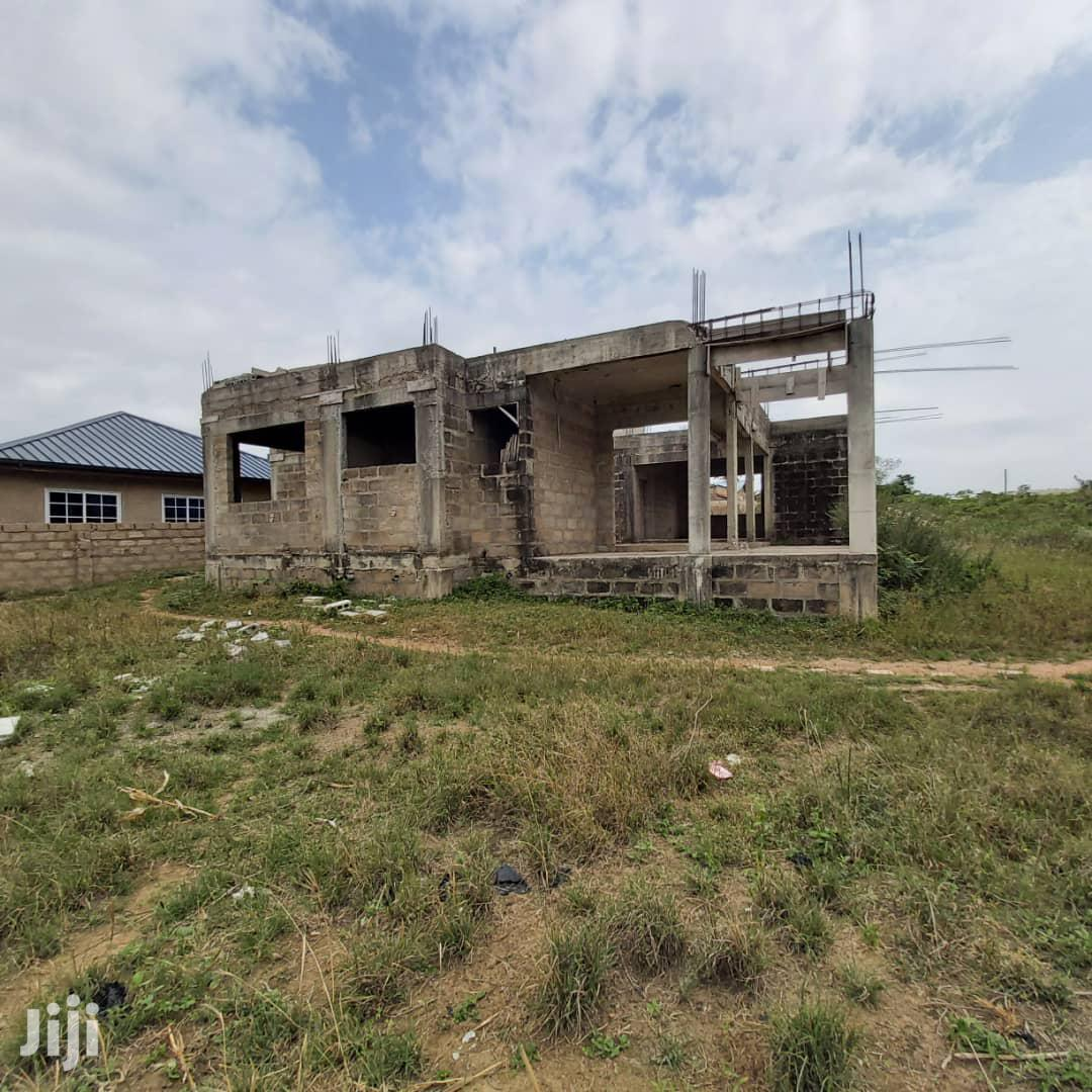 4 Bedroom Uncompleted House On One And Half Plot At Kasoa | Houses & Apartments For Sale for sale in Awutu Senya West, Central Region, Ghana