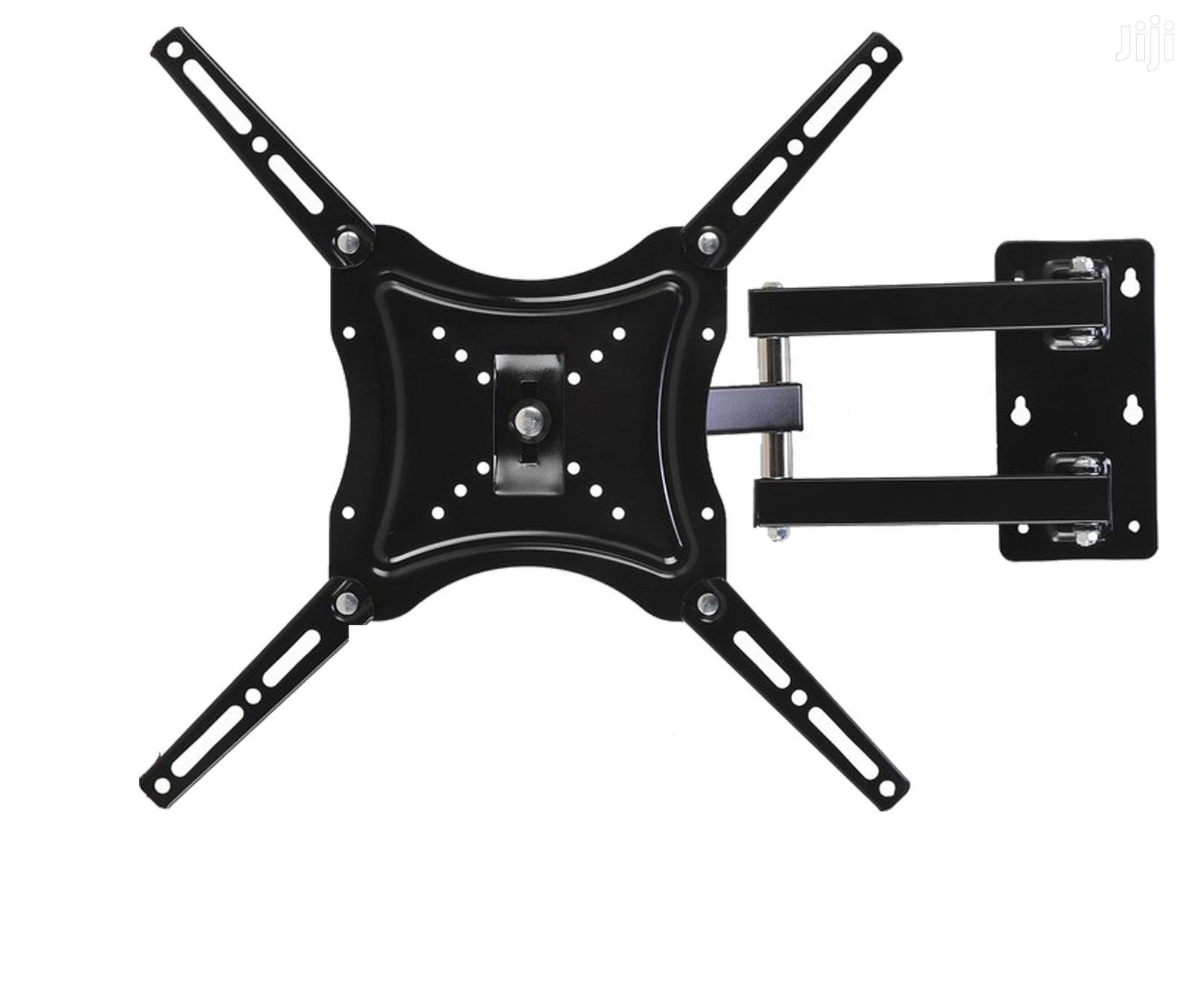 """14 """"To 55 Inch Monitor TV Arm Wall Mount 360 ° Up To 50 Kg"""