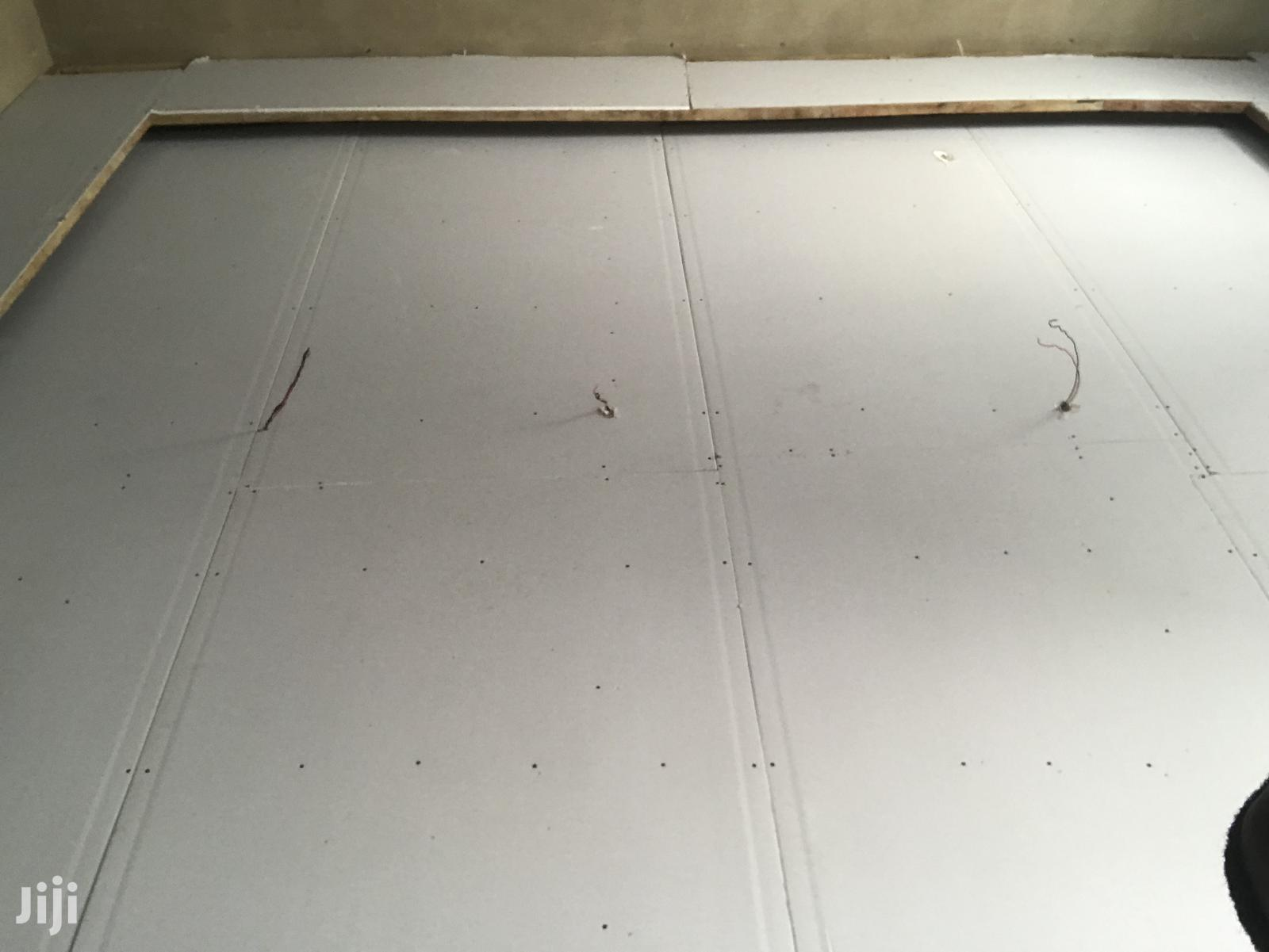 Hiding Light Ceiling Design With Plasterboard