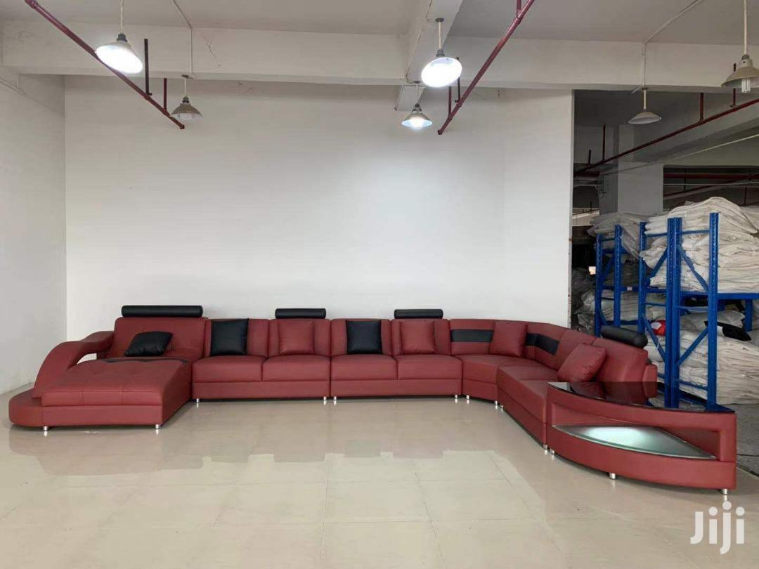 L Shaped Leather Sofa for Sale