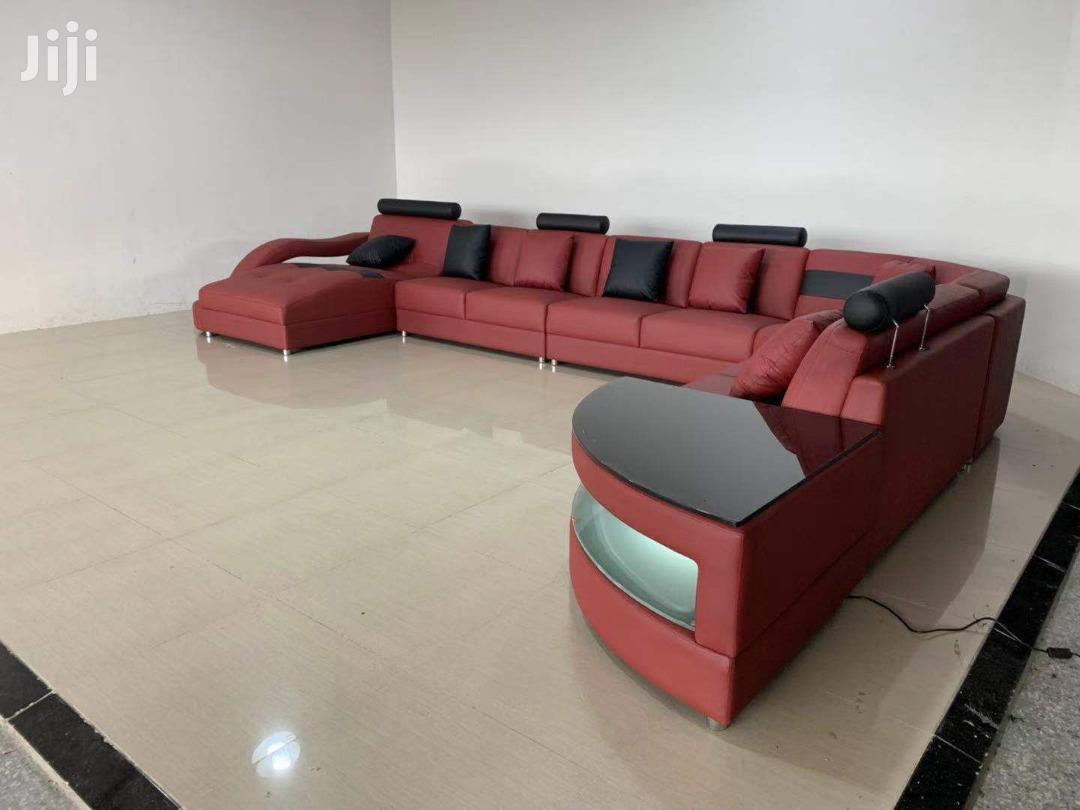 L Shaped Leather Sofa for Sale | Furniture for sale in Nungua East, Greater Accra, Ghana
