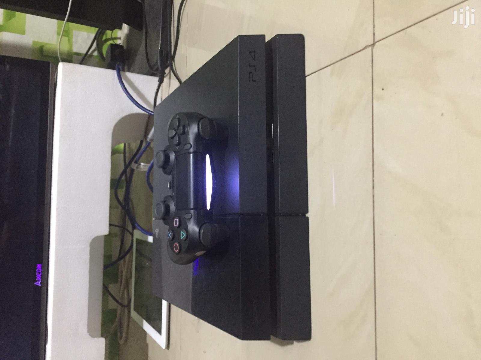 PS4 Fat 4 Games on It FIFA21 GTA5 Mk11 NBA20