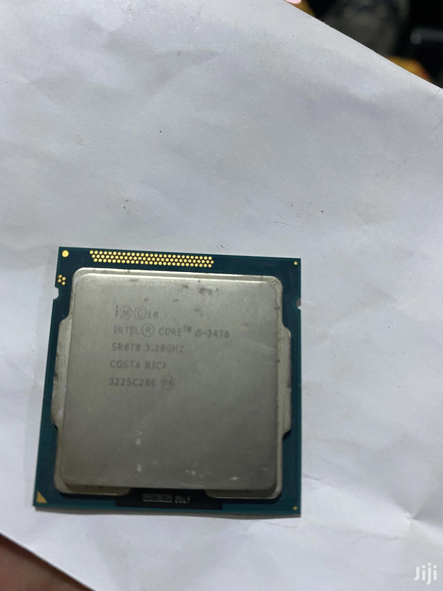 Archive: Intel Core I5-3470 Processor 3rd
