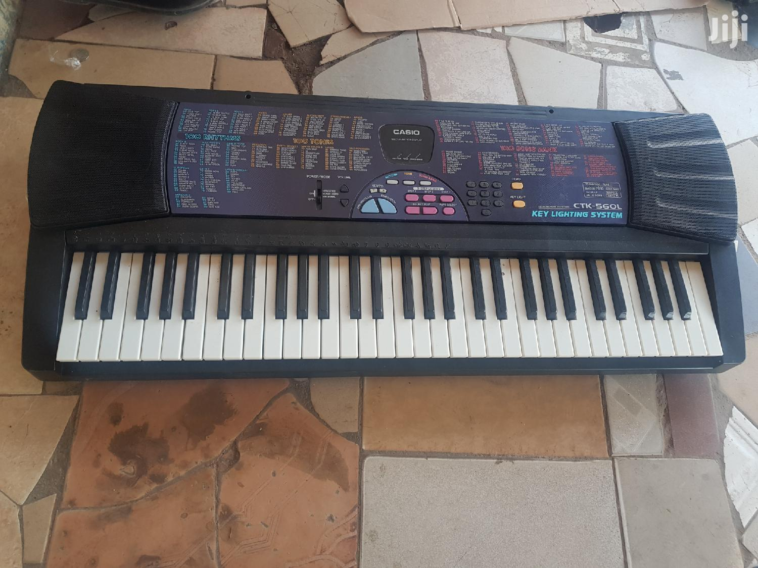 Casio CTK560L Keyboard   Musical Instruments & Gear for sale in Adenta Municipal, Greater Accra, Ghana