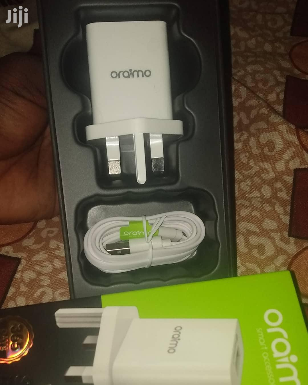 Oraimo OCW-U61D Dual USB Charger   Accessories for Mobile Phones & Tablets for sale in Tema Metropolitan, Greater Accra, Ghana