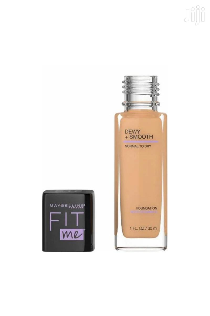 Archive: Fit Me Dewy + Smooth Foundation