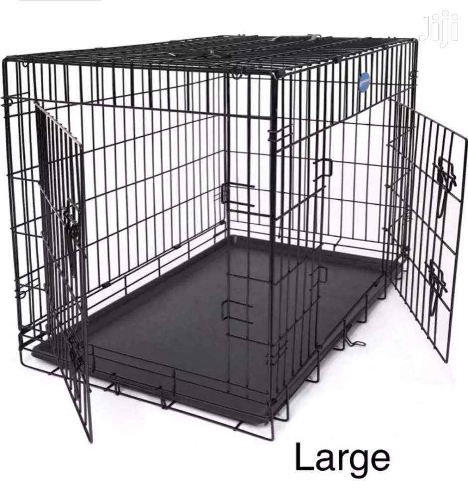 Metal Dog Cage.