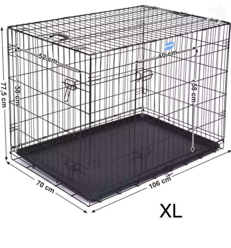 Metal Dog Cage. | Pet's Accessories for sale in Adenta, Greater Accra, Ghana