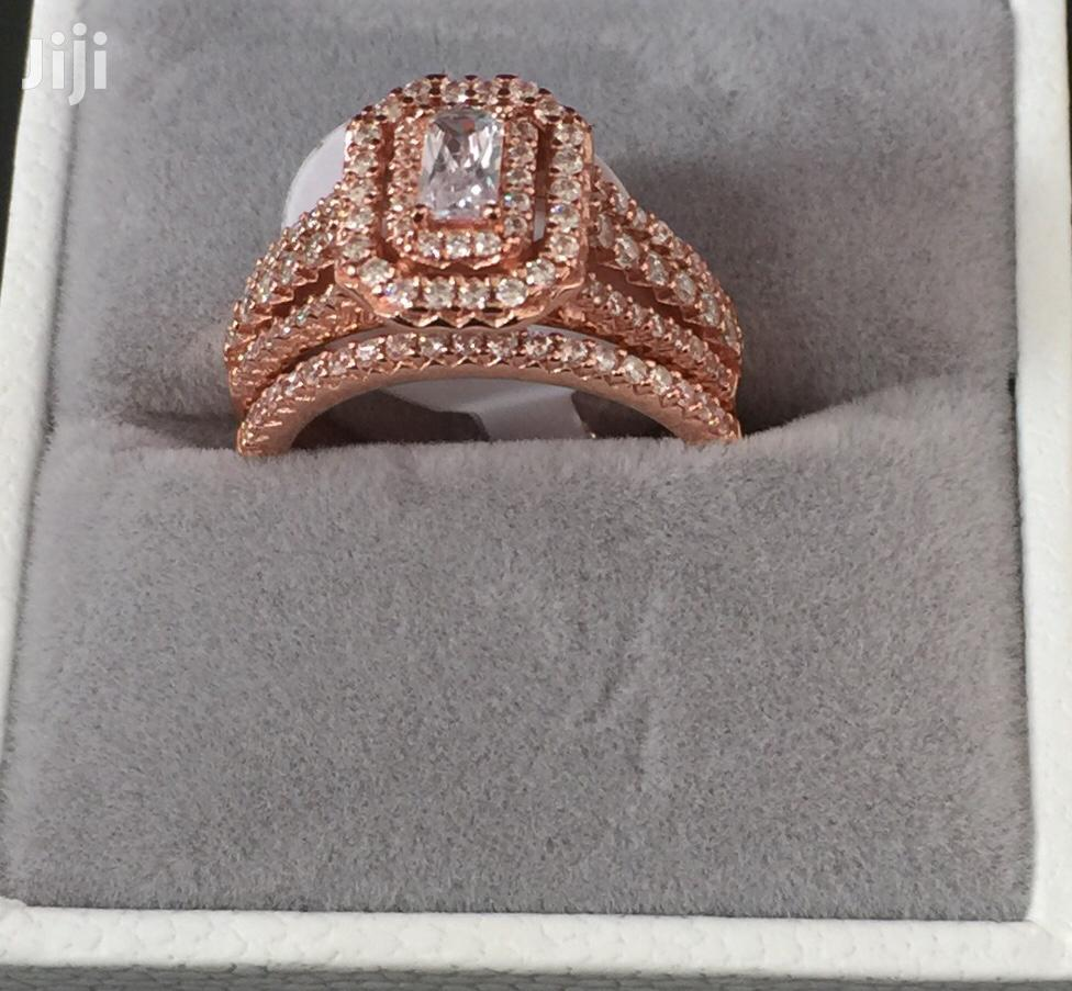 Sterling Silver Rose Gold Couple Set | Jewelry for sale in Kumasi Metropolitan, Ashanti, Ghana
