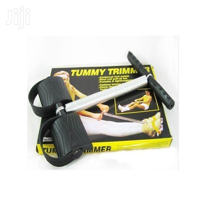 Quality Tummy Trimmer - Black