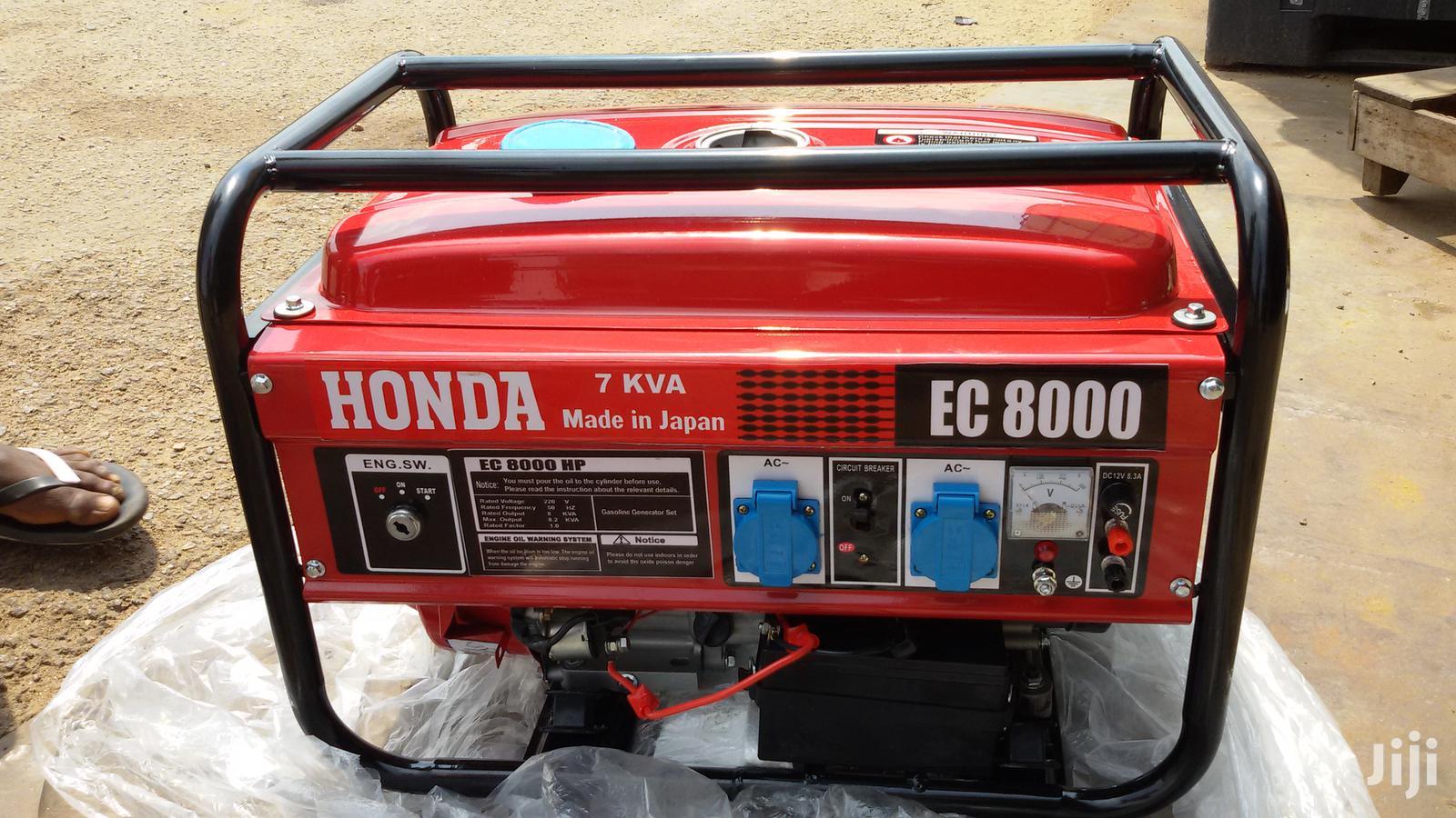 Smart8000wax Silent 7kva Honda Generator Newin Box