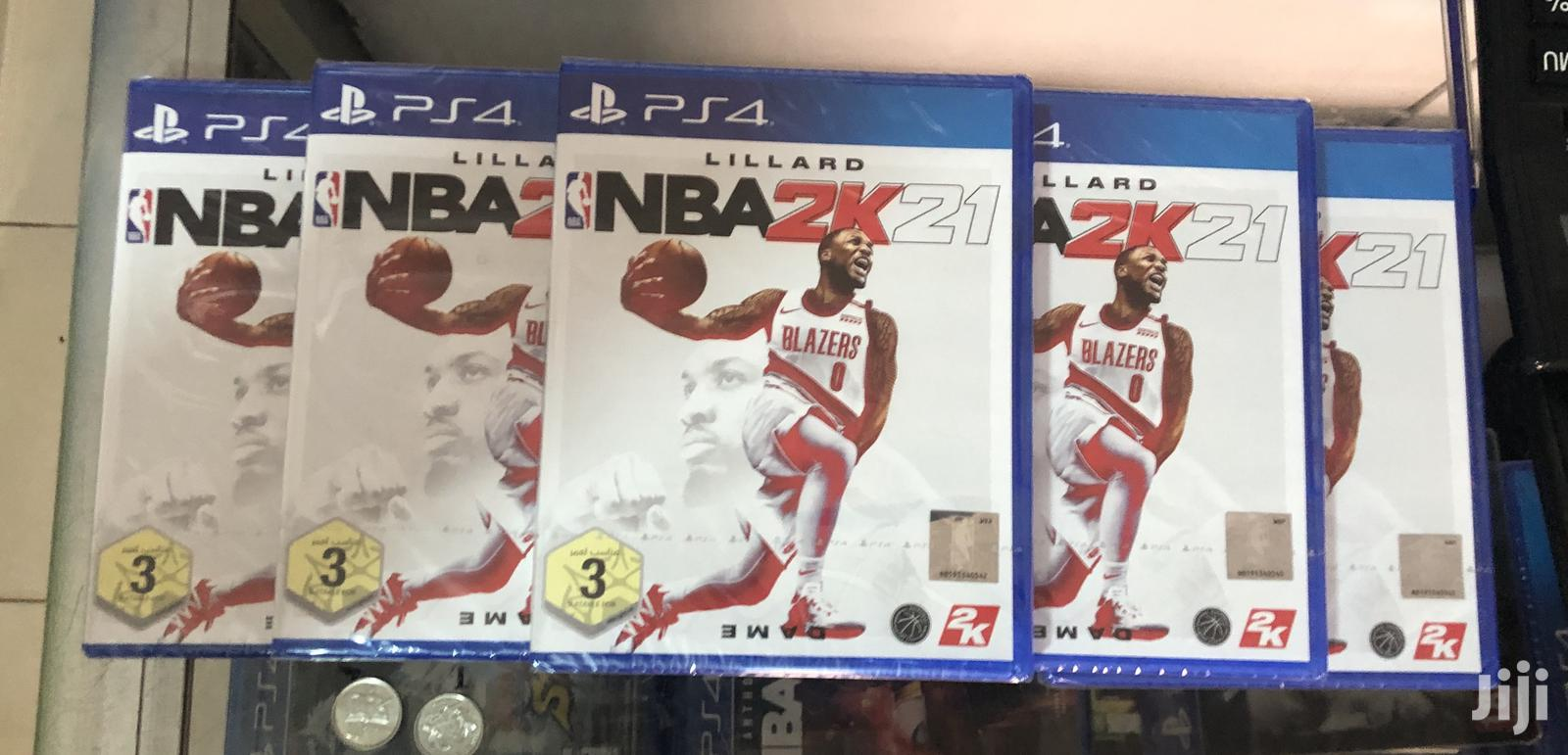 Archive: NBA2K21 Ps4